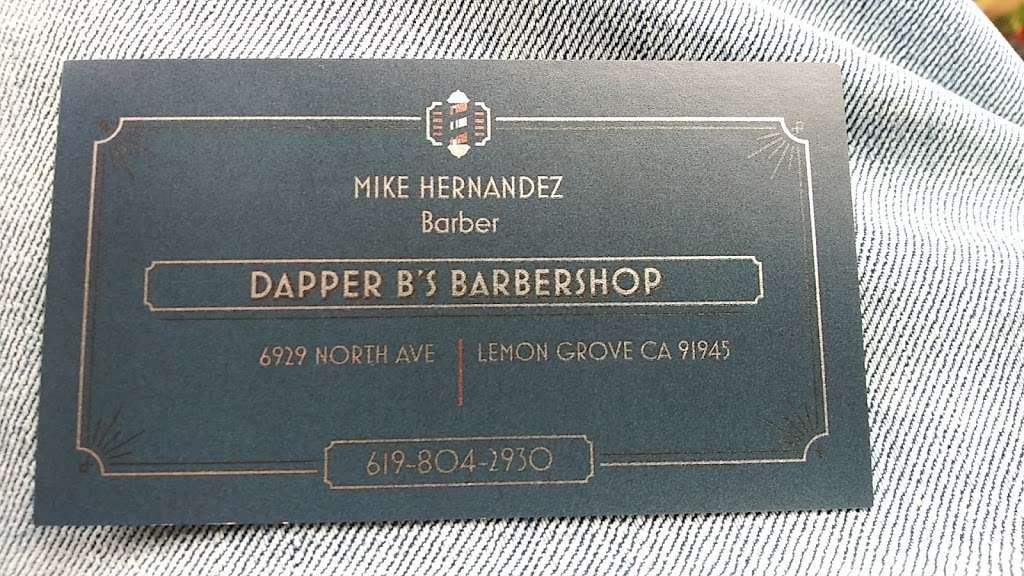 DAPPER B'S BARBERSHOP - hair care  | Photo 2 of 3 | Address: 6929 North Ave, Lemon Grove, CA 91945, USA | Phone: (619) 465-3964