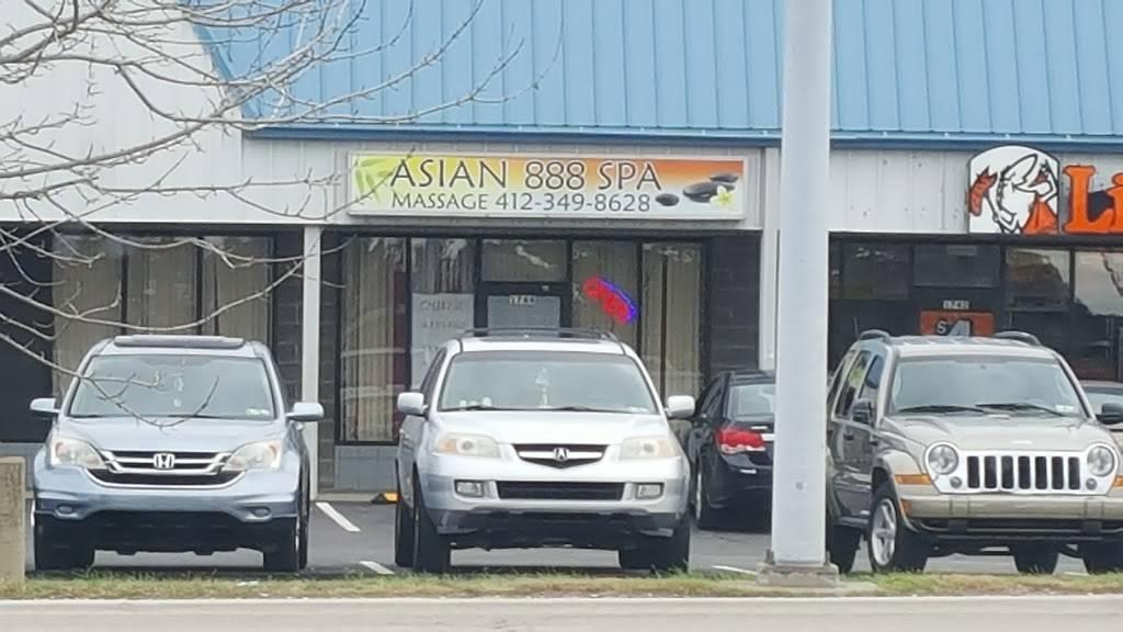 Asian 888 Spa - physiotherapist  | Photo 1 of 2 | Address: 1744 Greensburg Pike, North Versailles, PA 15137, USA | Phone: (412) 349-8628