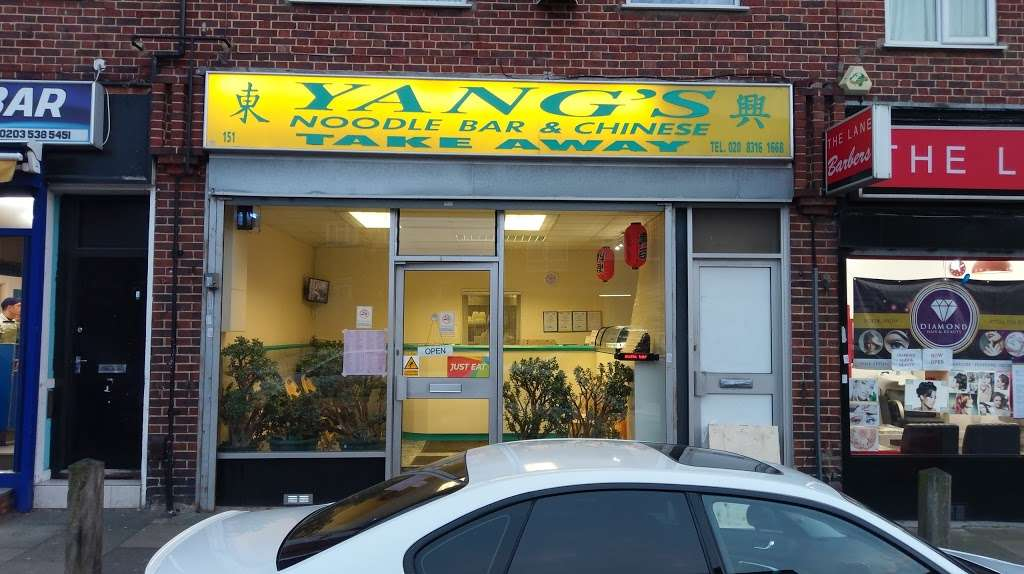 Yangs Noodle Bar - meal takeaway  | Photo 2 of 6 | Address: 151 Swingate Ln, London SE18 2BZ, UK | Phone: 020 8316 1668