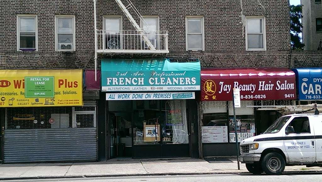 3rd Avenue Pro French Cleaners - laundry    Photo 2 of 2   Address: 9409 3rd Ave, Brooklyn, NY 11209, USA   Phone: (718) 833-6000