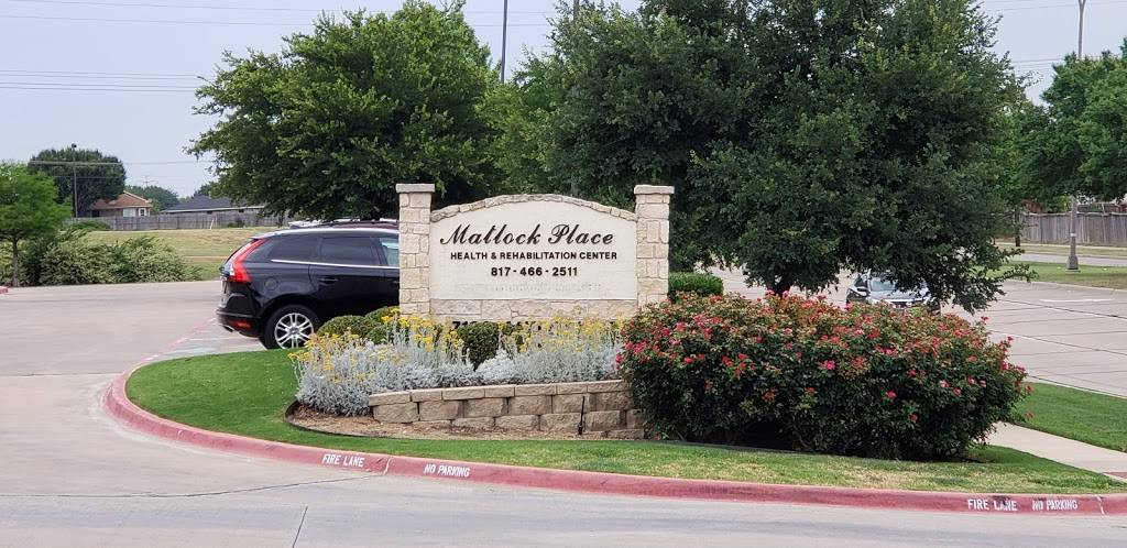 Matlock Place Health & Rehabilitation - health  | Photo 1 of 4 | Address: 7100 Matlock Rd, Arlington, TX 76002, USA | Phone: (817) 466-2511