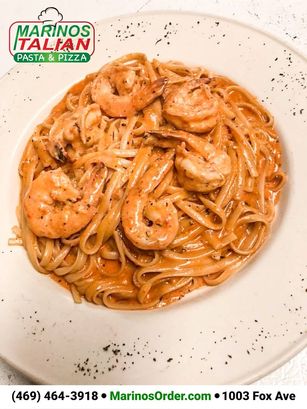 Marinos Italian Pasta & Pizza - meal delivery  | Photo 10 of 10 | Address: 1003 Fox Ave, Lewisville, TX 75067, USA | Phone: (469) 464-3918
