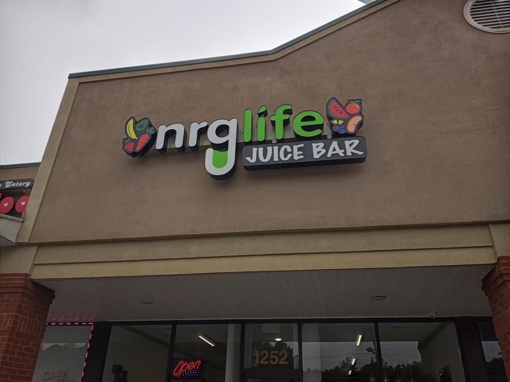 NRG Life Juice Bar - restaurant  | Photo 2 of 6 | Address: 1252 GA-138, Riverdale, GA 30296, USA | Phone: (770) 731-0860