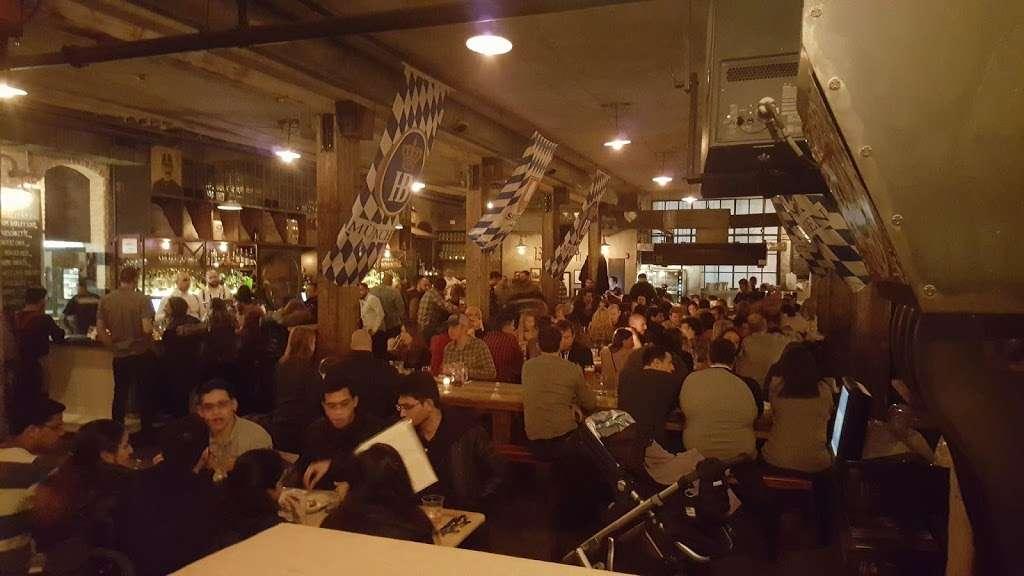 Pilsener Haus & Biergarten - restaurant  | Photo 1 of 10 | Address: 1422 Grand St, Hoboken, NJ 07030 Enter, on 15th between Grand & Adams, Hoboken, NJ 07030, USA | Phone: (201) 683-5465