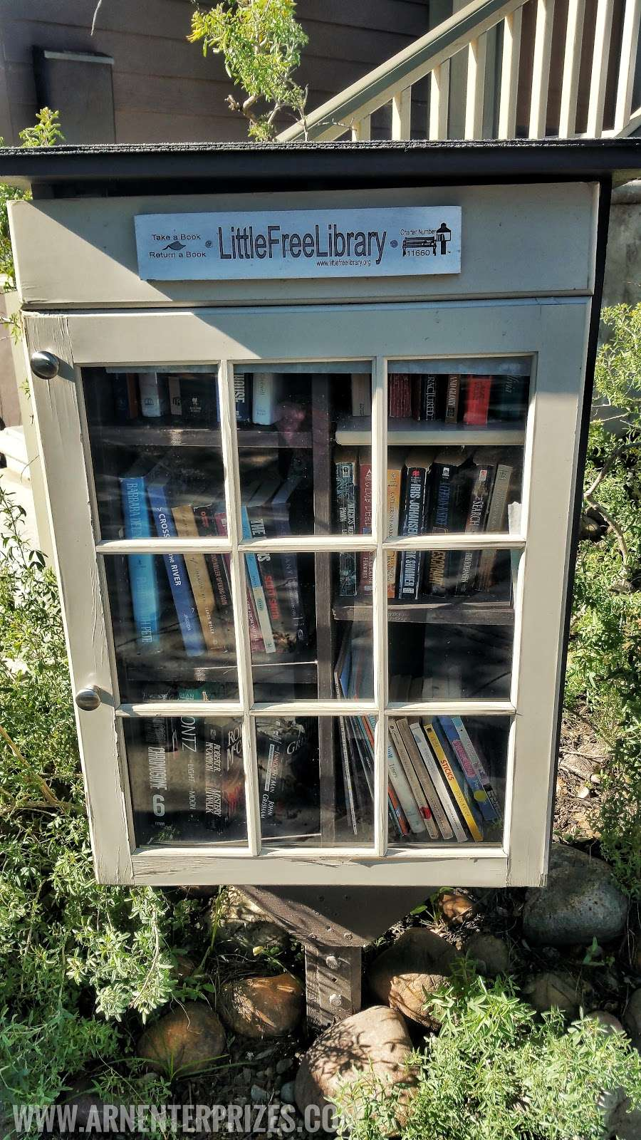 Little Free Library #11660 - library    Photo 1 of 3   Address: 1912 Fern St, San Diego, CA 92102, USA