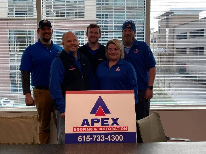 Apex Roofing & Restoration, LLC - roofing contractor  | Photo 1 of 7 | Address: 320 Seven Springs Way Suite 250, Brentwood, TN 37027, USA | Phone: (615) 733-4300