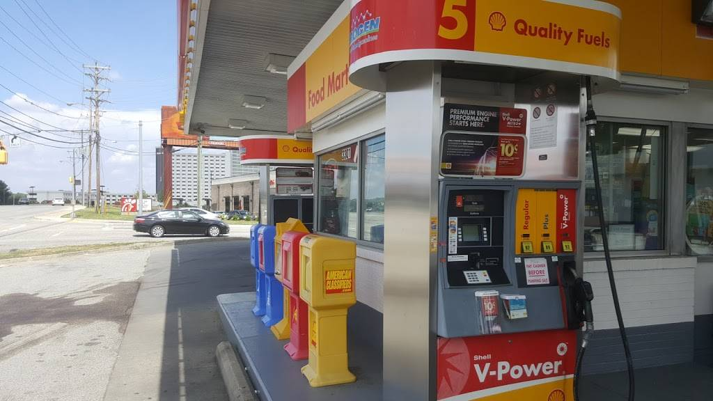 Shell - gas station  | Photo 2 of 4 | Address: 3301 W Gate City Blvd, Greensboro, NC 27407, USA | Phone: (336) 636-5201