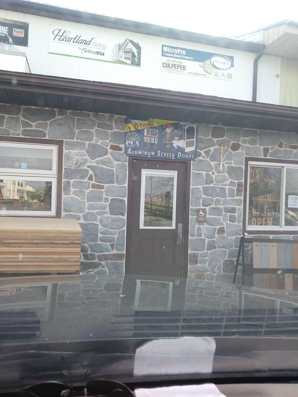 Paneling Sales - store    Photo 3 of 8   Address: 143 Belmont Rd, Gordonville, PA 17529, USA   Phone: (717) 768-8037