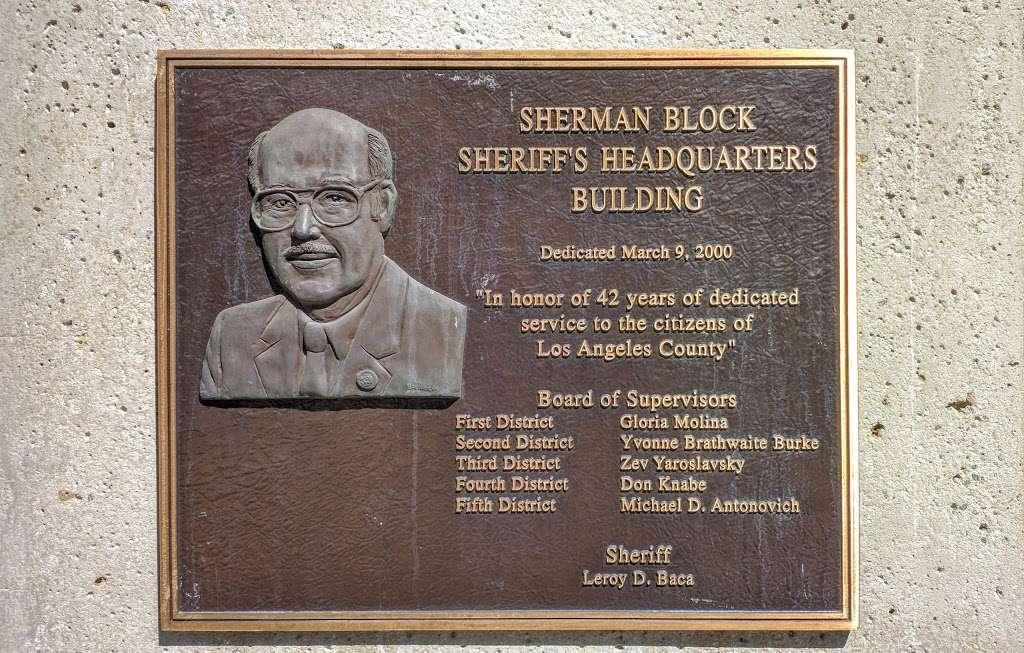 Los Angeles Sheriffs Department - Sherman Block Building - local government office    Photo 3 of 3   Address: 4700 Ramona Blvd, Monterey Park, CA 91754, USA
