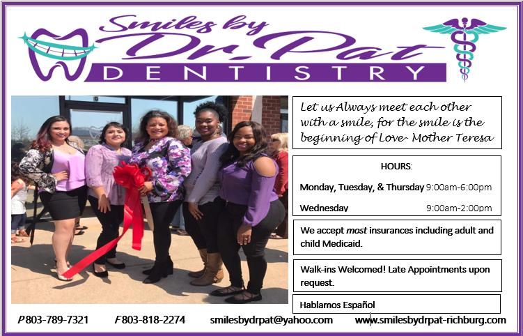 Patricia K. Rucker, D.D.S. - dentist  | Photo 3 of 3 | Address: 3191 Lancaster Hwy St. G, Richburg, SC 29729, USA | Phone: (803) 789-7321