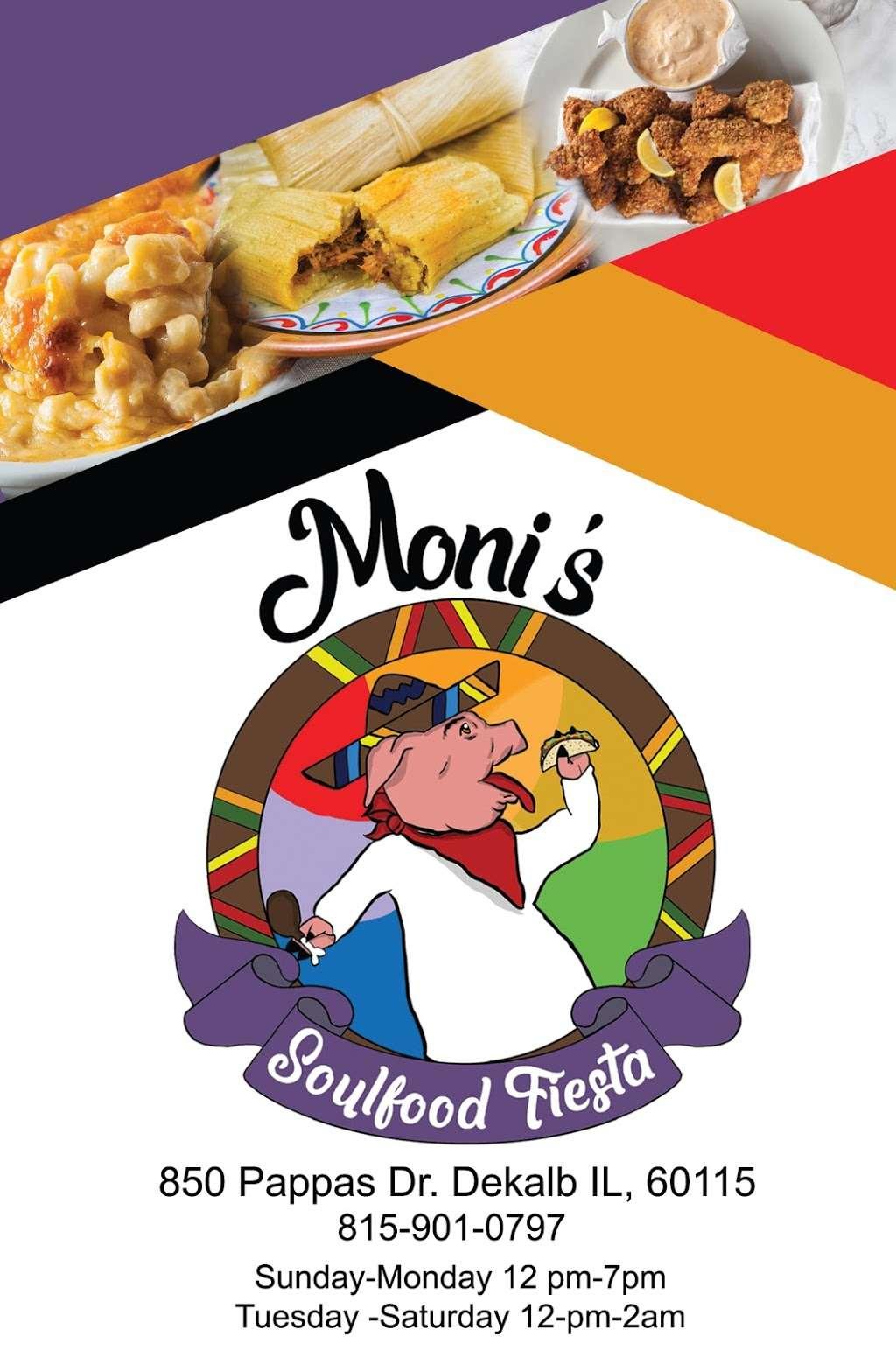 Monis Soulfood Fiesta - restaurant    Photo 5 of 7   Address: 850 Pappas Dr, DeKalb, IL 60115, USA   Phone: (815) 901-0797