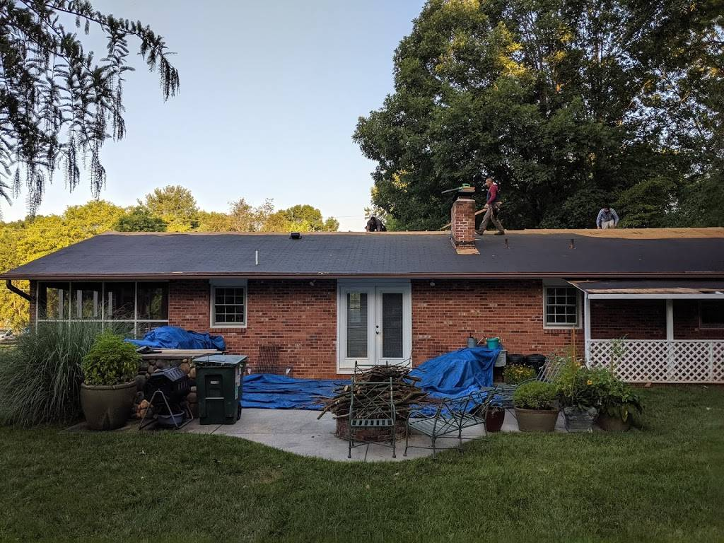 Tesh Roofing Co - roofing contractor    Photo 2 of 2   Address: 536 Shadow Ln, Winston-Salem, NC 27107, USA   Phone: (336) 785-0550
