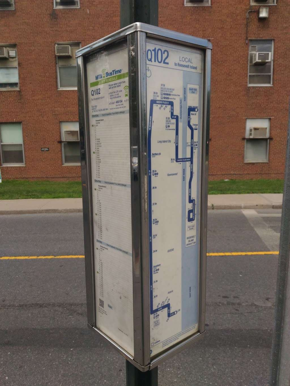 Main St/the Octagon (Opp 888 Main St) - bus station | Address: New York, NY 10044, USA