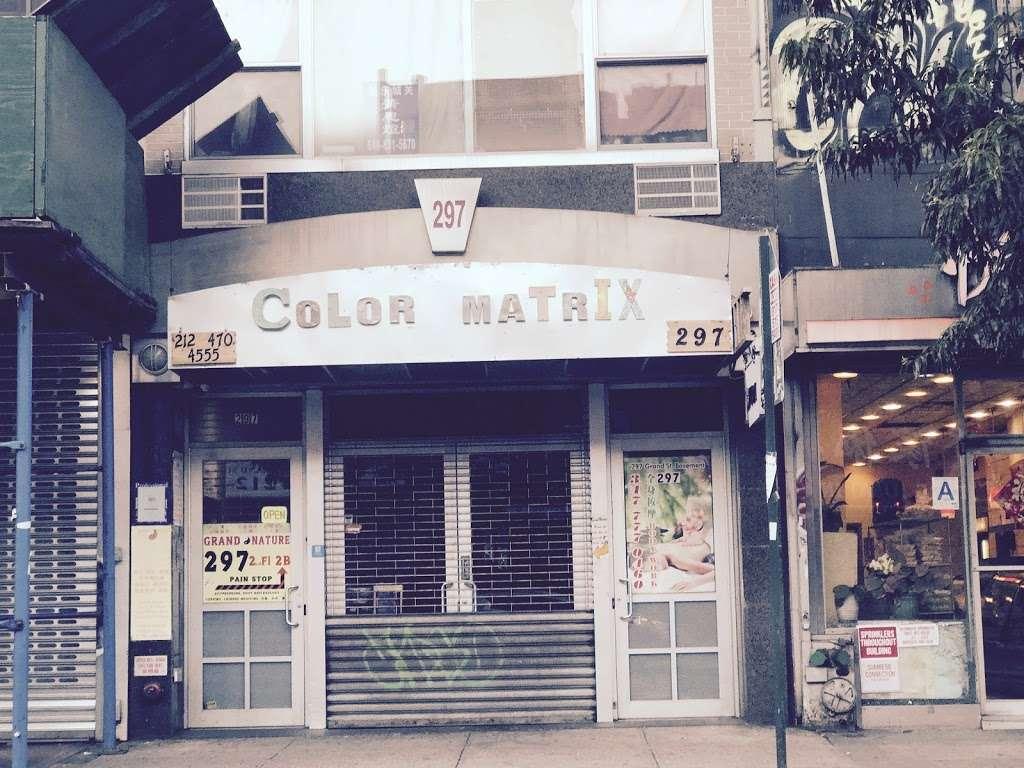 Color Matrix Cafesalon - hair care  | Photo 3 of 7 | Address: 297 Grand St, New York, NY 10002, USA | Phone: (212) 470-4555