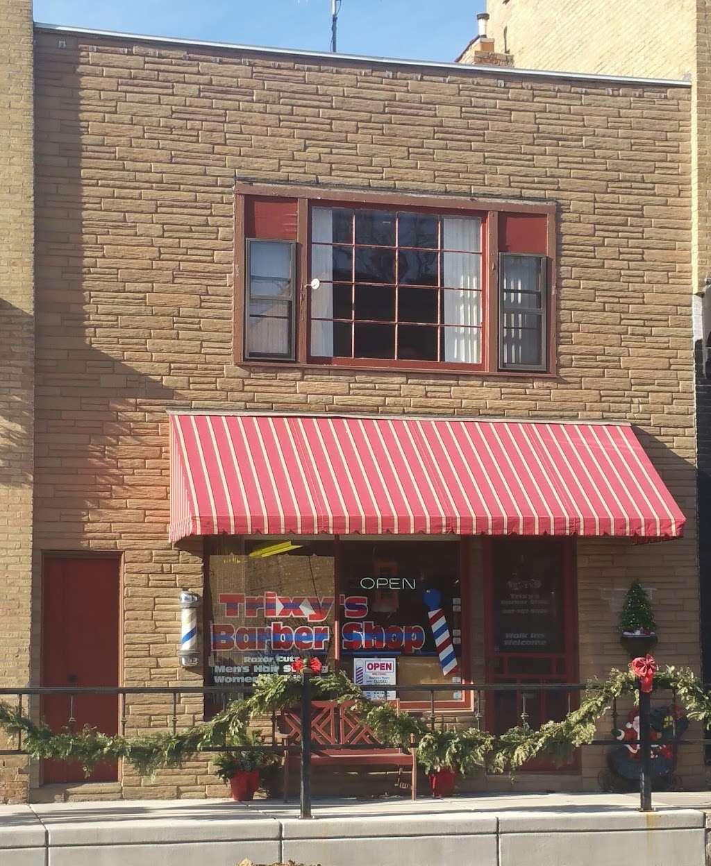 Trixys Barber Shop - hair care  | Photo 1 of 1 | Address: 10319 Main St, Richmond, IL 60071, USA | Phone: (847) 767-9080