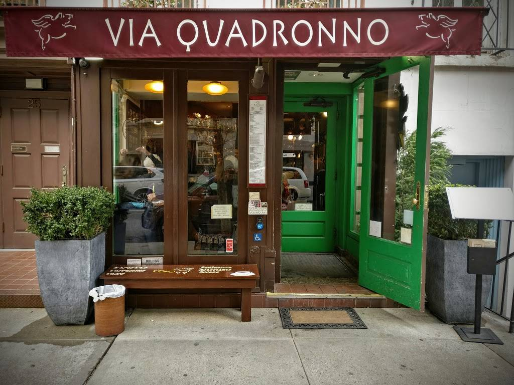 Via Quadronno - cafe    Photo 3 of 10   Address: 25 E 73rd St, New York, NY 10021, USA   Phone: (212) 650-9880