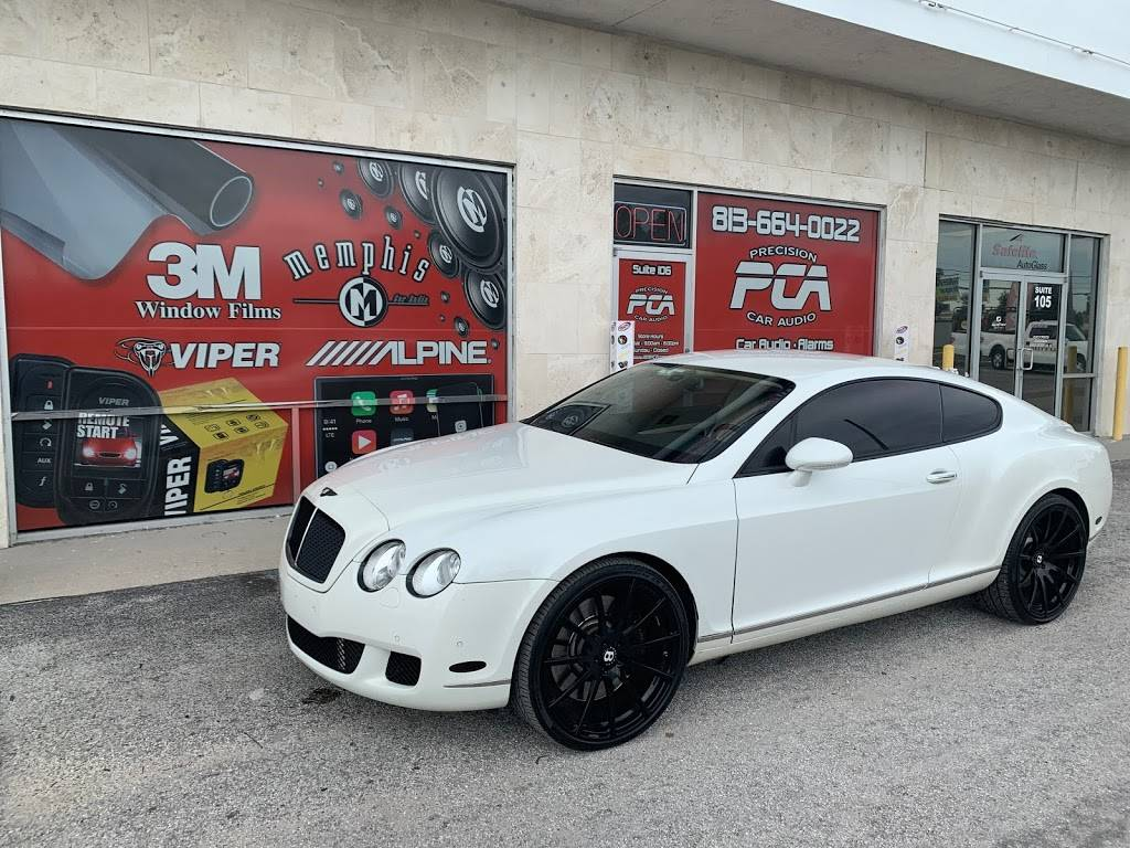 Precision Car Audio and Window Tint - electronics store  | Photo 2 of 9 | Address: 9017 E Adamo Dr #106, Tampa, FL 33619, USA | Phone: (813) 664-0022