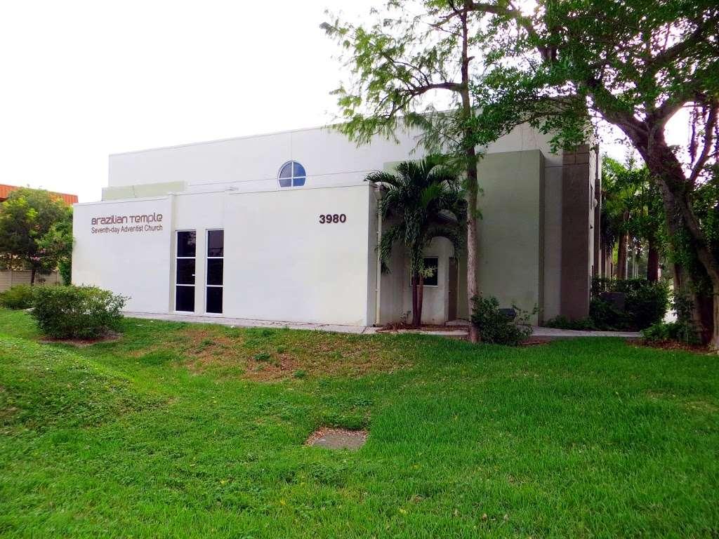 Brazilian Temple SDA Church - church    Photo 9 of 10   Address: 3980 NW 21st Ave, Fort Lauderdale, FL 33309, USA   Phone: (954) 739-9500