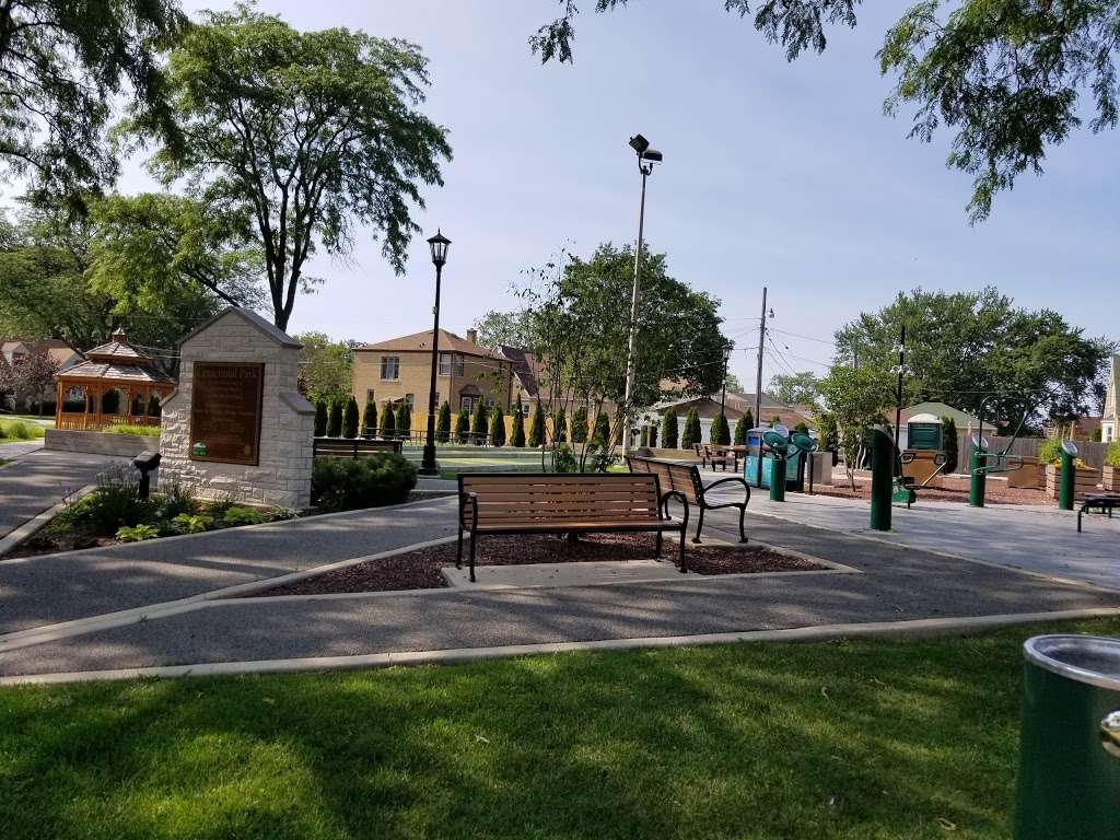 Centennial Park - park  | Photo 2 of 10 | Address: 7600 W Armitage Ave, Elmwood Park, IL 60707, USA