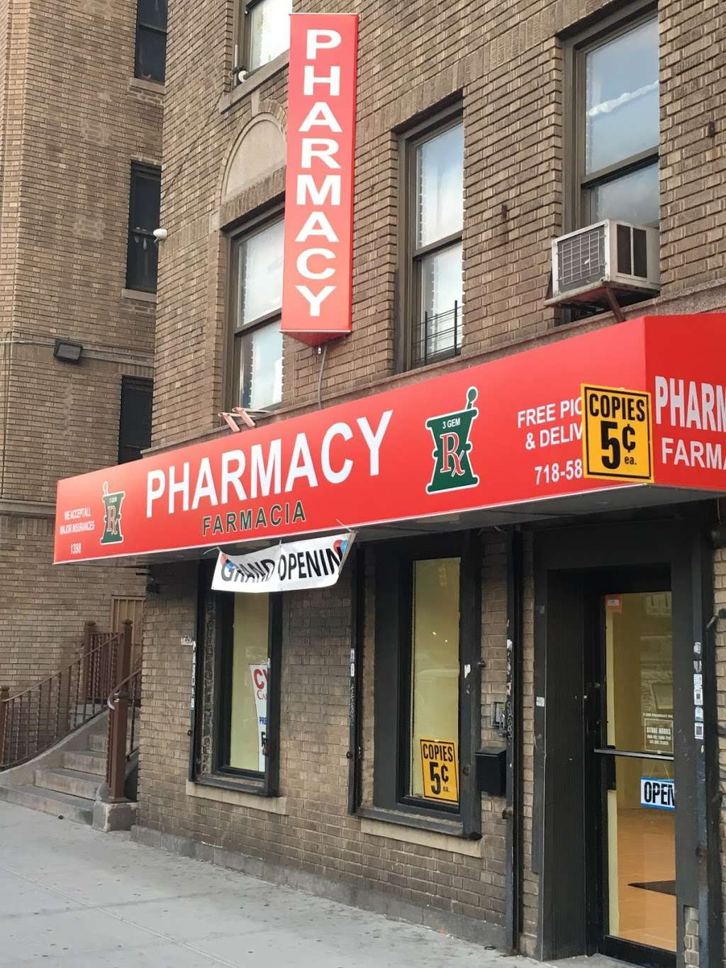 3 Gem Pharmacy - pharmacy  | Photo 4 of 4 | Address: 1398 Grand Concourse, Bronx, NY 10456, USA | Phone: (718) 588-3333