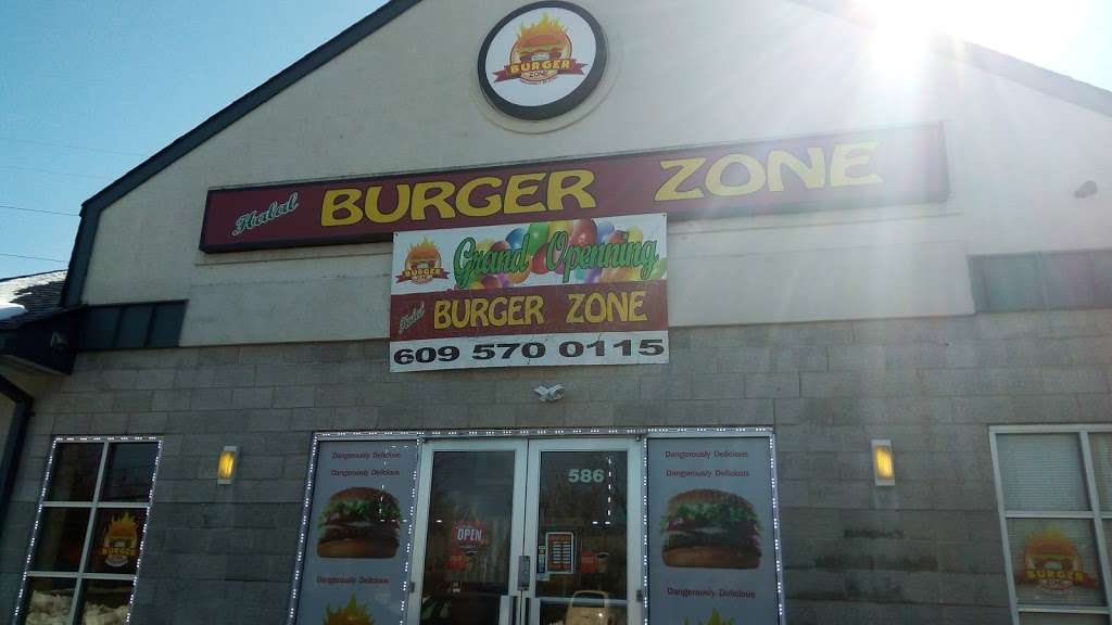 Halal Burger Zone - restaurant  | Photo 3 of 10 | Address: 586 Lawrence Square Blvd S, Lawrence Township, NJ 08648, USA | Phone: (609) 570-0115
