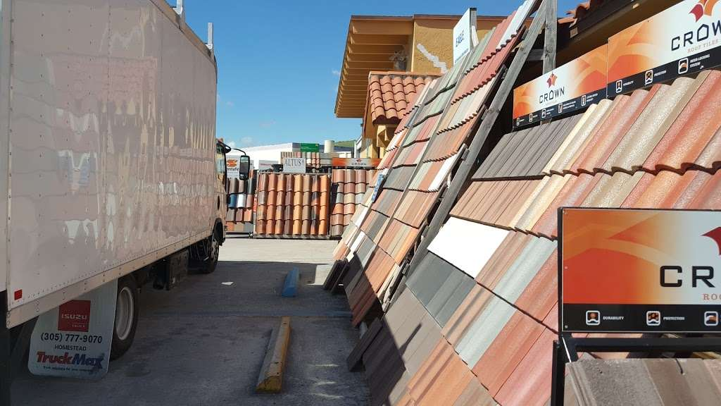 Mediterranean Roof Tiles - store    Photo 2 of 10   Address: 9060 NW 97th Terrace, Medley, FL 33178, USA   Phone: (305) 887-7055