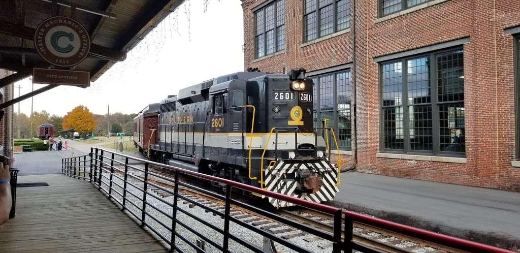 N.C. Transportation Museum - museum  | Photo 9 of 9 | Address: 1 Samuel Spencer Dr, Spencer, NC 28159, USA | Phone: (704) 636-2889