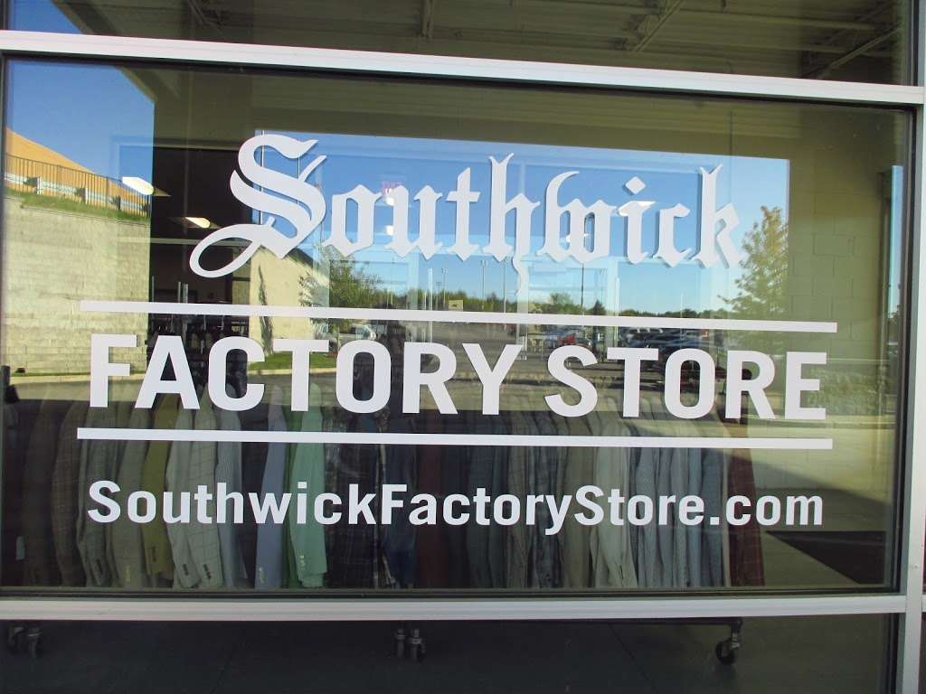 Southwick Factory Store - clothing store  | Photo 10 of 10 | Address: 25 Computer Dr, Haverhill, MA 01832, USA | Phone: (978) 738-0885