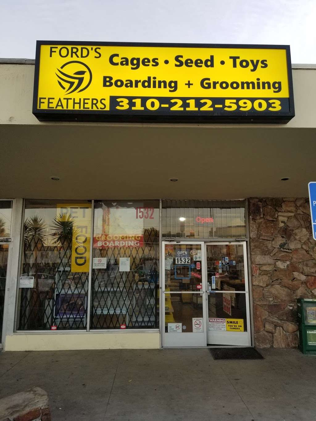 Fords Feathers - pet store  | Photo 1 of 10 | Address: 1532 W Carson St, Torrance, CA 90501, USA | Phone: (310) 212-5903