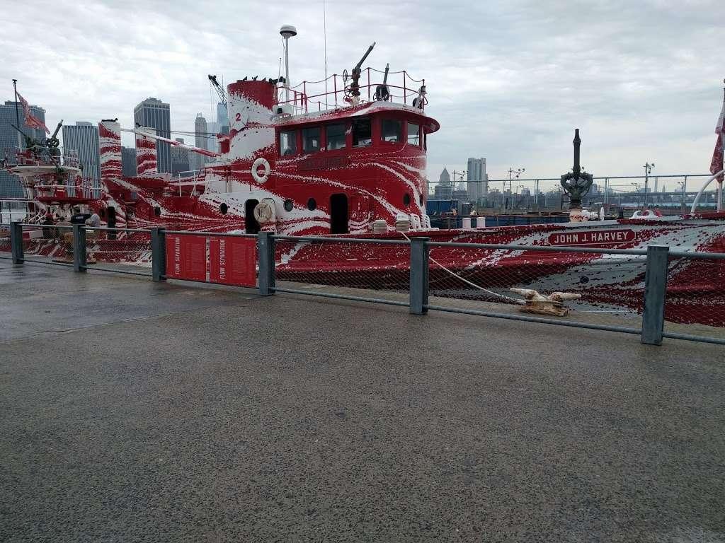John J. Harvey Fireboat - store  | Photo 6 of 10 | Address: Hudson River Greenway, New York, NY 10005, USA