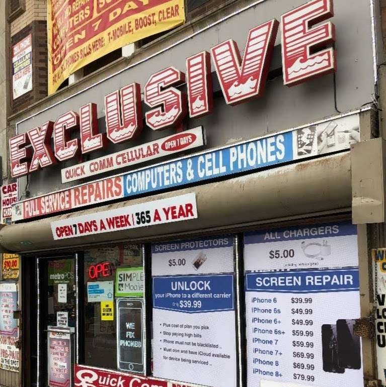 exclusive quickcom phones and repairs - store  | Photo 1 of 6 | Address: 4117 W Madison St, Chicago, IL 60624, USA | Phone: (773) 533-3200