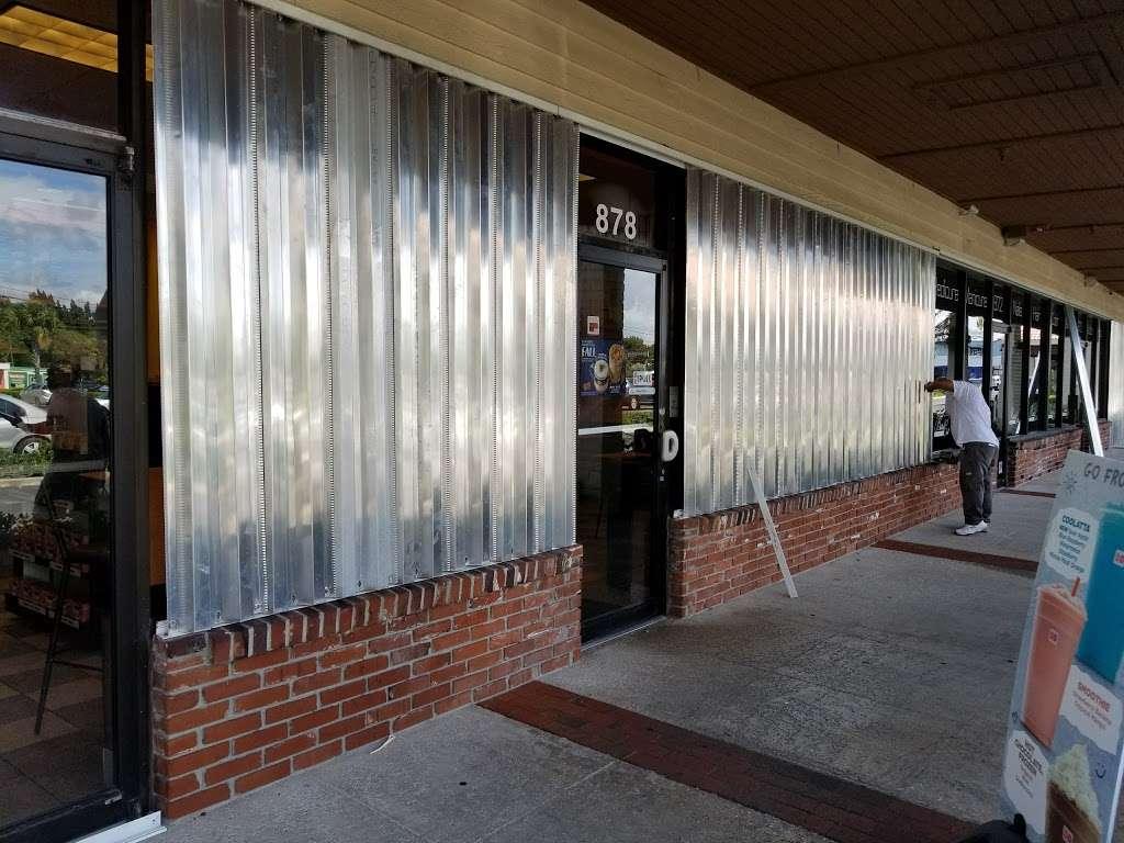 Dunkin Donuts - cafe  | Photo 4 of 10 | Address: 878 N Military Trl, West Palm Beach, FL 33415, USA | Phone: (561) 682-1951