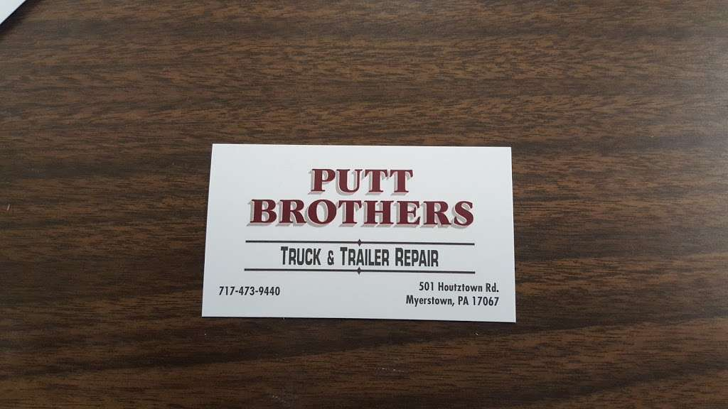 Putt Brothers Truck Repair - car repair  | Photo 3 of 3 | Address: 501 Houtztown Rd, Myerstown, PA 17067, USA | Phone: (717) 473-9440