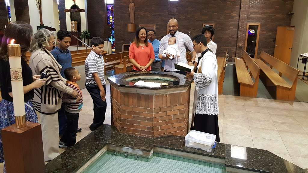 St Damian Catholic Church - church    Photo 9 of 10   Address: 5250 155th St, Oak Forest, IL 60452, USA   Phone: (708) 687-1370