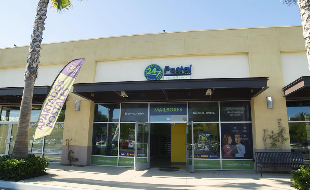 24-7 Postal - post office    Photo 9 of 9   Address: 3975 Camino De La Plaza Suite 208, San Ysidro, CA 92173, USA   Phone: (619) 830-1110
