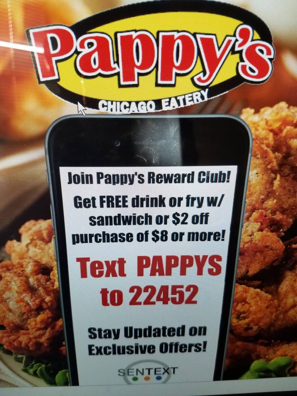 Pappys Chicago Style Eatery - restaurant    Photo 3 of 10   Address: 1783 Maryland Ave E, St Paul, MN 55119, USA   Phone: (651) 771-4500