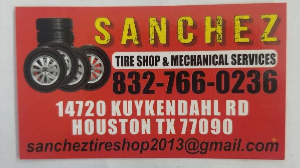 Sanchez Tire Shop - car repair  | Photo 2 of 8 | Address: 14720 Kuykendahl Rd, Houston, TX 77090, USA | Phone: (832) 766-0236