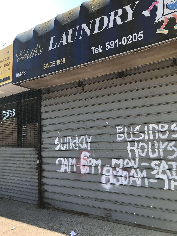 Ediths Laundry - laundry  | Photo 1 of 1 | Address: 164-18 69th Ave, Flushing, NY 11365, USA | Phone: (718) 380-8666