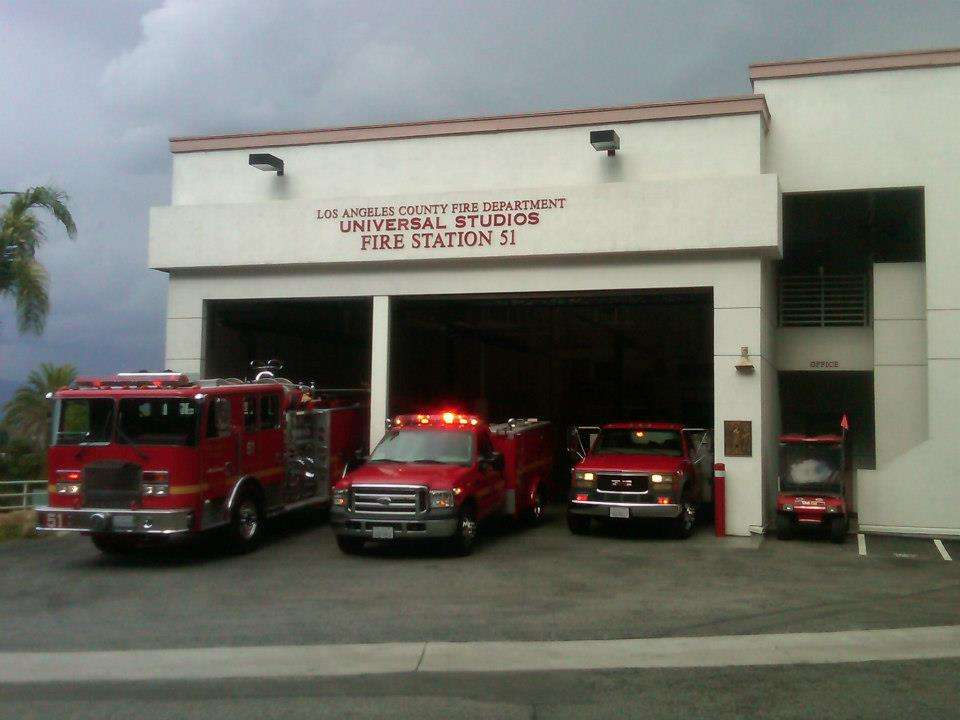 Los Angeles County Fire Dept. Station 51 - fire station  | Photo 4 of 8 | Address: 3900 Lankershim Blvd, North Hollywood, CA 91602, USA | Phone: (323) 877-4412