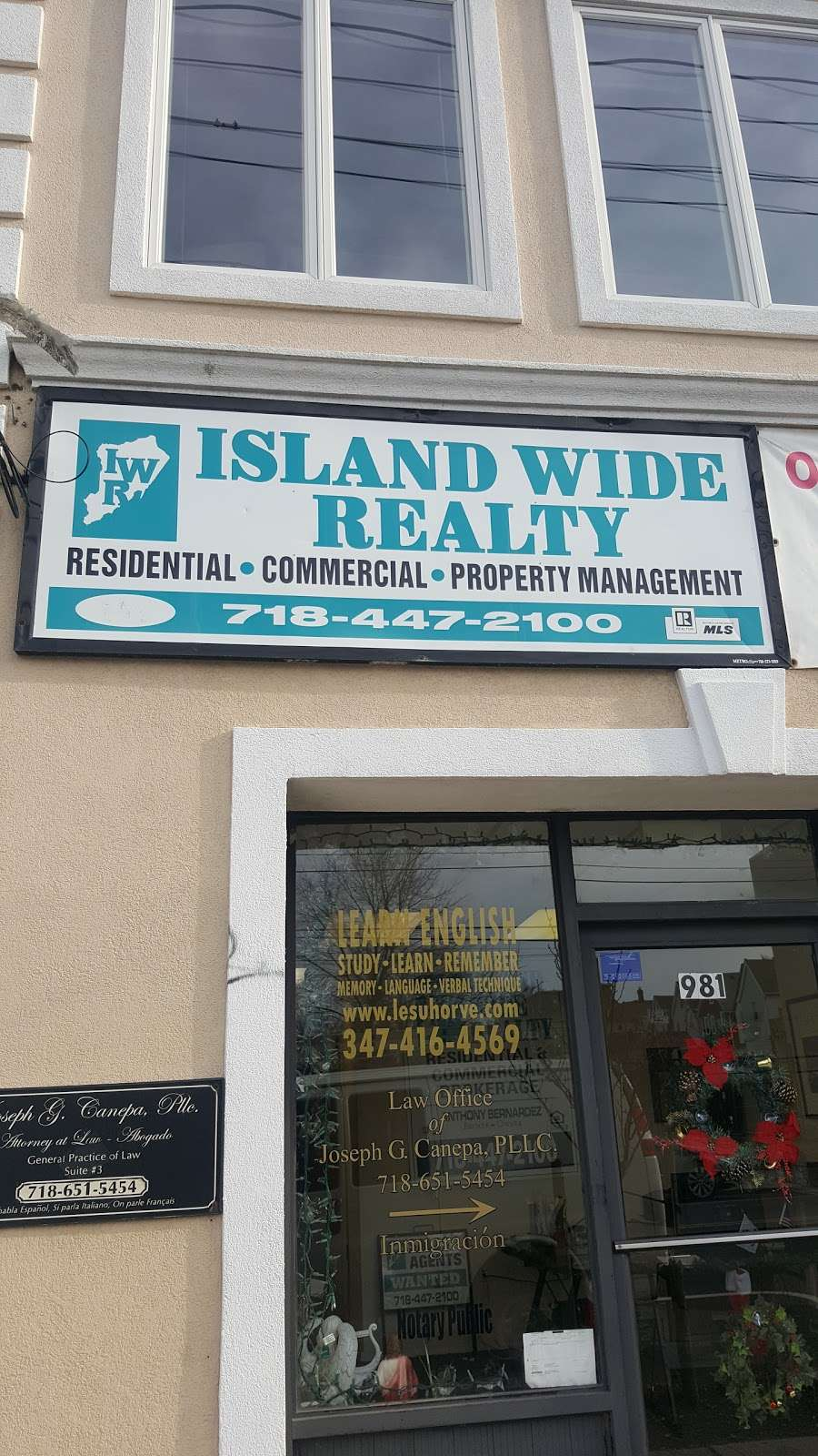 Island Wide Realty - real estate agency  | Photo 1 of 1 | Address: 981 Bay St, Staten Island, NY 10305, USA | Phone: (718) 447-2100