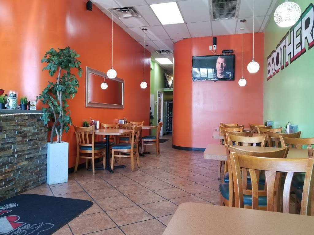 Brothers Pizza - meal delivery    Photo 1 of 9   Address: 7575 S Rainbow Blvd Suite 104, Las Vegas, NV 89139, USA   Phone: (702) 270-8850