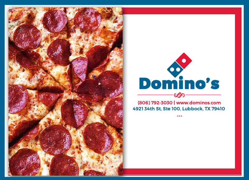 Dominos Pizza - meal delivery  | Photo 2 of 10 | Address: 4921 34th St Ste 100, Lubbock, TX 79410, USA | Phone: (806) 792-3030