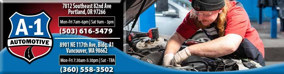 A-1 Automotive - car repair    Photo 8 of 10   Address: 8901 NE 117th Ave bldg a1, Vancouver, WA 98662, USA   Phone: (360) 558-3502