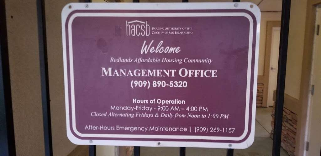 Housing Authority - local government office    Photo 1 of 1   Address: 803 W Brockton Ave, Redlands, CA 92374, USA   Phone: (909) 798-6762