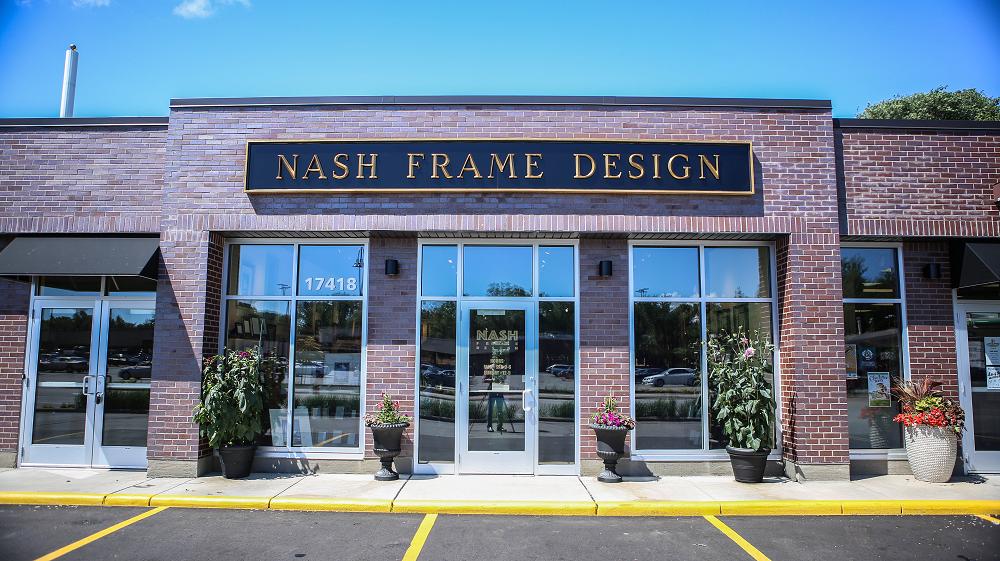 Nash Frame Design - art gallery    Photo 1 of 8   Address: 17418 Minnetonka Blvd, Minnetonka, MN 55345, USA   Phone: (952) 955-7588