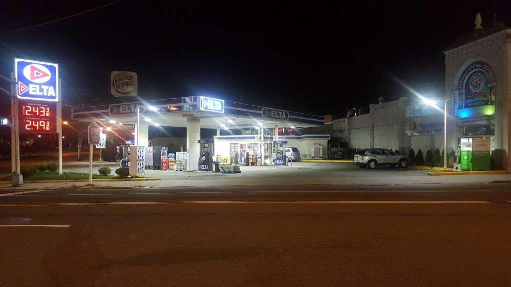 Delta Gas Station - gas station  | Photo 8 of 9 | Address: 9280 John Fitzgerald Kennedy Blvd, North Bergen, NJ 07047, USA | Phone: (201) 854-3800