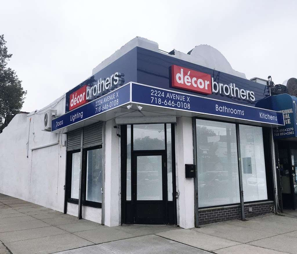 Decor Brothers - home goods store  | Photo 1 of 1 | Address: 2224 Avenue X, Brooklyn, NY 11235, USA | Phone: (800) 608-8550
