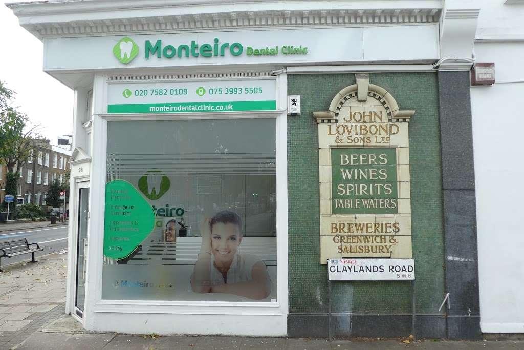 Monteiro Dental Clinic - dentist  | Photo 3 of 5 | Address: 28A Clapham Road, London, Oval SW9 0JQ, UK | Phone: 020 7582 0109