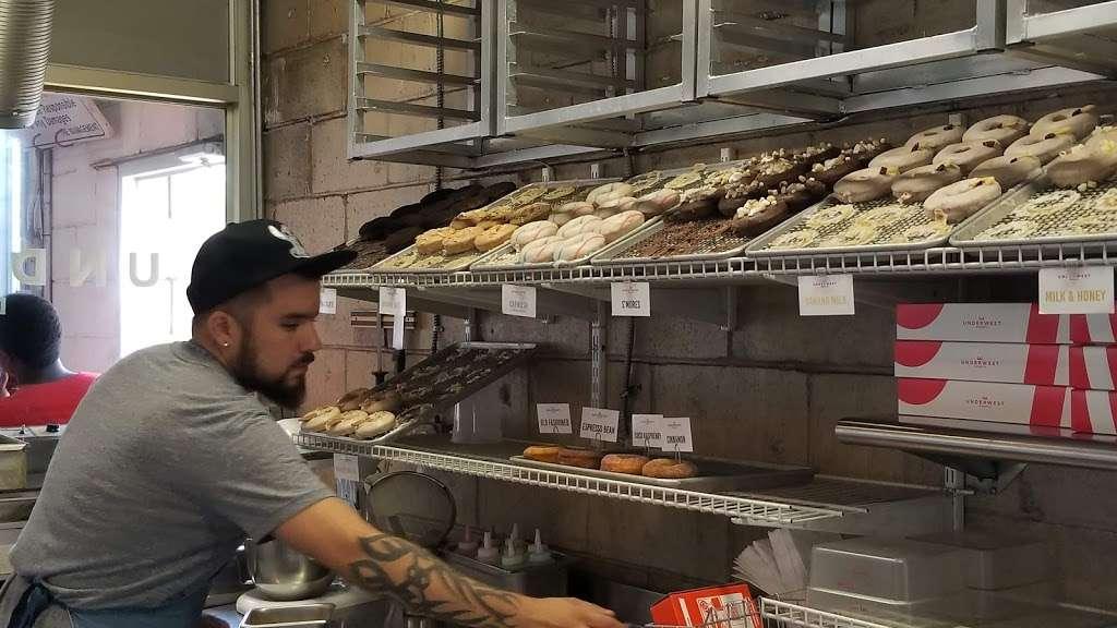 Underwest Donuts - bakery    Photo 1 of 10   Address: 638 W 47th St, New York, NY 10036, USA   Phone: (212) 317-2359