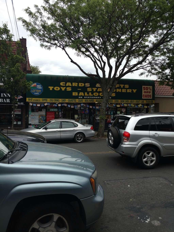 G R Stationery Store - store  | Photo 1 of 1 | Address: 6467 Dry Harbor Rd, Flushing, NY 11379, USA | Phone: (718) 894-0816